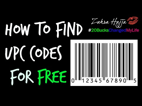 How To Find UPC Codes The Free Way (Universal Product Code) eBay - Amazon - Etc.
