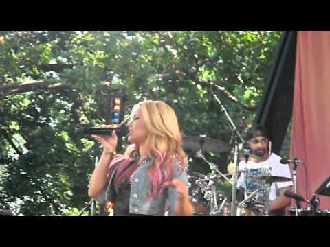 GMA Summer Concert Series   Demi Lovato   Unbroken   July 6, 2012
