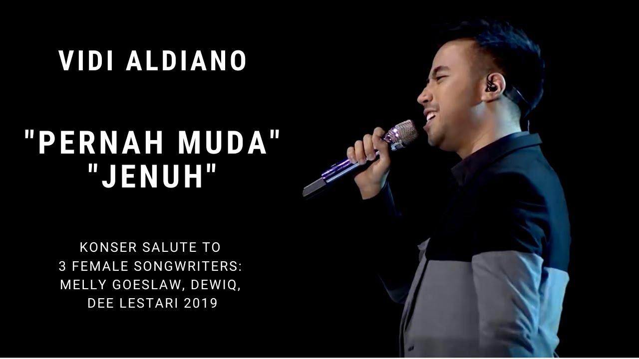 Download Vidi Aldiano - Pernah Muda/Jenuh (Konser Salute Erwin Gutawa to 3 Female Songwriters) MP3 Gratis