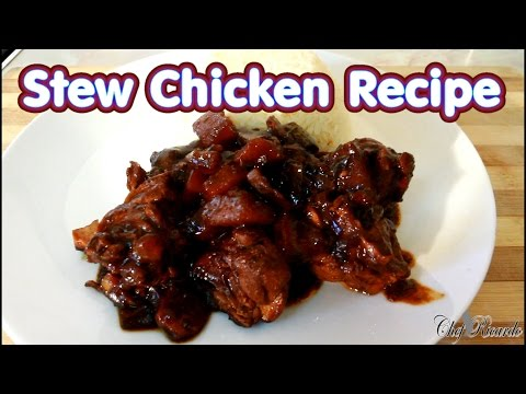 How To Make The Best Stew Chicken Jamaican Stew Chicken Recipe | Recipes By Chef Ricardo