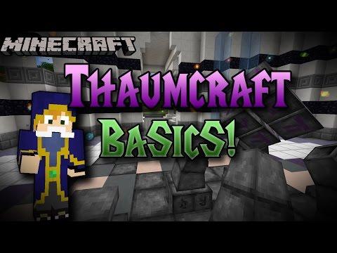 Minecraft   Thaumcraft Basics   Magic, Weapons and more! Mod Spotlight