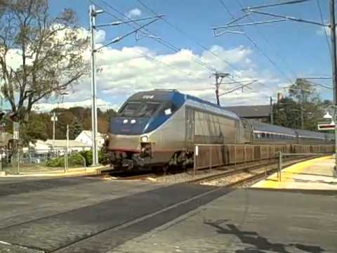 Amtraking to NYC from Mystic, CT
