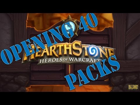 Hearthstone Opening 40 Packs Do I Get A Legendary Card
