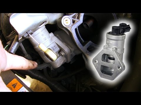 How to: Clean & replace Idle Air Control Valve Ford Duratec HE (Mondeo, Focus, Mazda)
