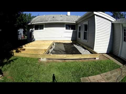 Floating Deck Time Lapse
