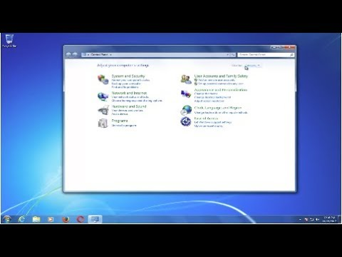 Turn Off And Disable Sticky Keys In Windows 7