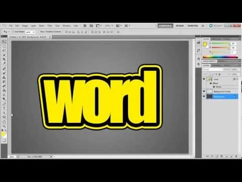 How to Add Multiple Strokes to Your Text in Photoshop