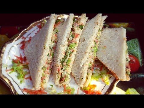 Veg Mayo Sandwich Recipe| Healthy Veg Mayo Sandwich | मेयोनीज वेज सैंडविच | Mayonnaise Veg Sandwich
