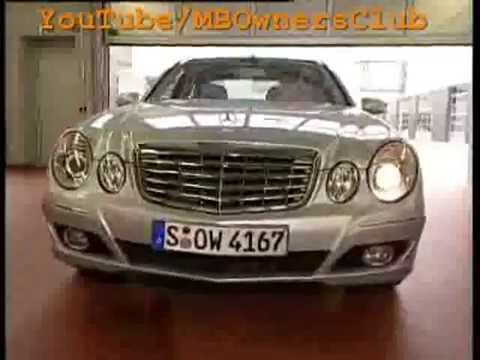 Mercedes-Benz E-Class   Only one headlamp is working properly on this E-Class