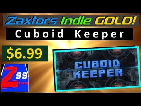 Zaxtor's Indie GOLD! - Cuboid Keeper - Binding of Isaac & Geometry Wars Fans REJOICE!
