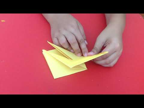 Origami Flapping Crane
