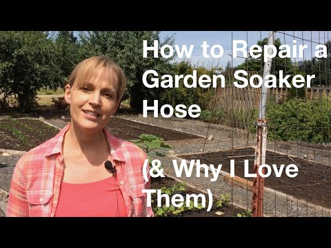 How To Repair A Garden Soaker Hose (& Why I Love Them) - AnOregonCottage.com