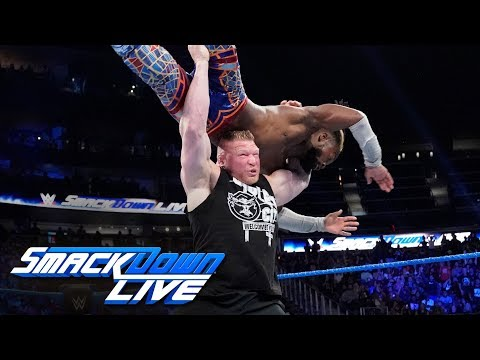 Xxx Mp4 Brock Lesnar Assaults Kofi Kingston After The New Day 39 S Victory SmackDown LIVE Sept 17 2019 3gp Sex