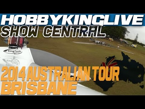 2014 Australian Tour - Brisbane Show - Turbine Gliders, Electric Tricycles & New Products!