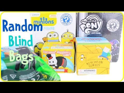 Random Blind Box Opening | MLP, Minecraft, Adventure Time, and more!