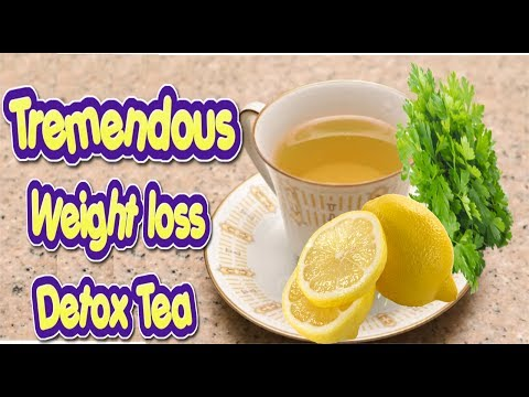 Detox tea weight loss recipe, Parsley for weight loss, Lose 5 Kg In Just 2 Days