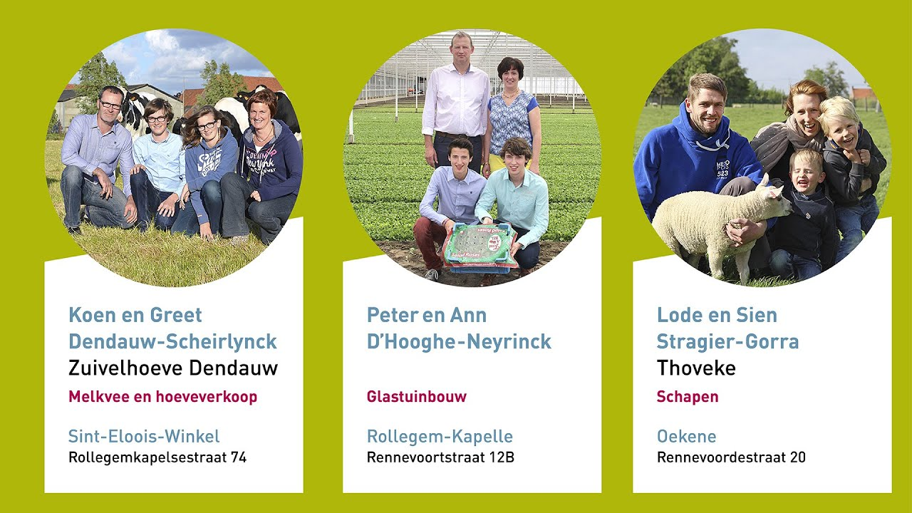 Bedrijven rond Rollegem-Kapelle - Dag van de Landbouw 2014