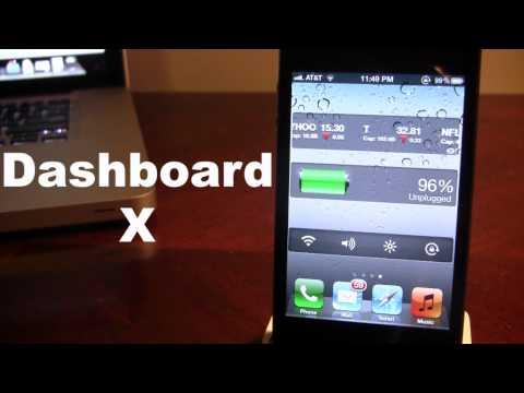 Dashboard X - iPhone & iPad Widgets on Home Screen (Cydia Tweak)