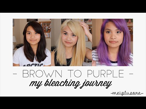 Dying My Hair Purple    bluejaymei