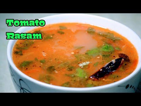 Tomato Rasam   Simple South Indian Recipe   Tomato Charu