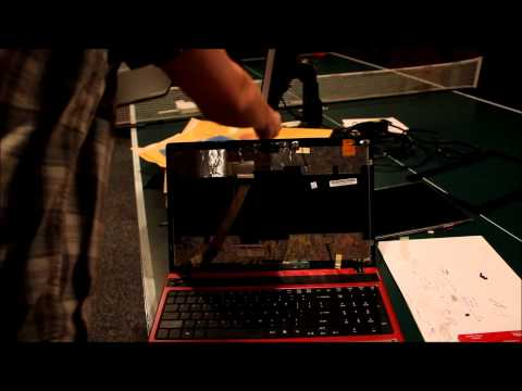 Laptop Screen Replacemt / How to Replace Laptop Screen Acer 5552-3104