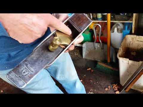 Part 22 Making a metal mitre plane.