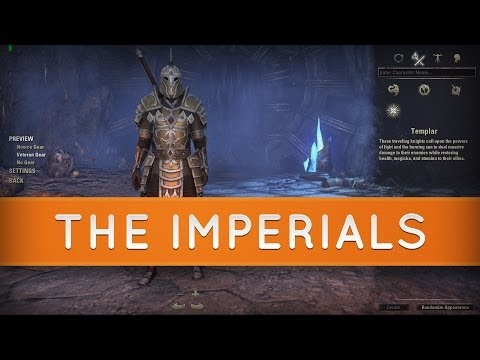 The Elder Scrolls Online: Races - The Imperials- Now unlocked in the beta!