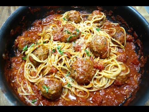 Spicy Spaghetti and Meatballs - Cooked by Julie episode 259