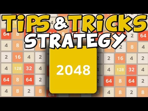 2048: BEST Strategy, Tips, Tricks & High Score (2048 Top App Gameplay)