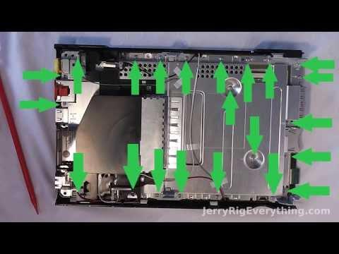 Nintendo Wii U Complete Tear Down, No Fluff. Fix and Repair video