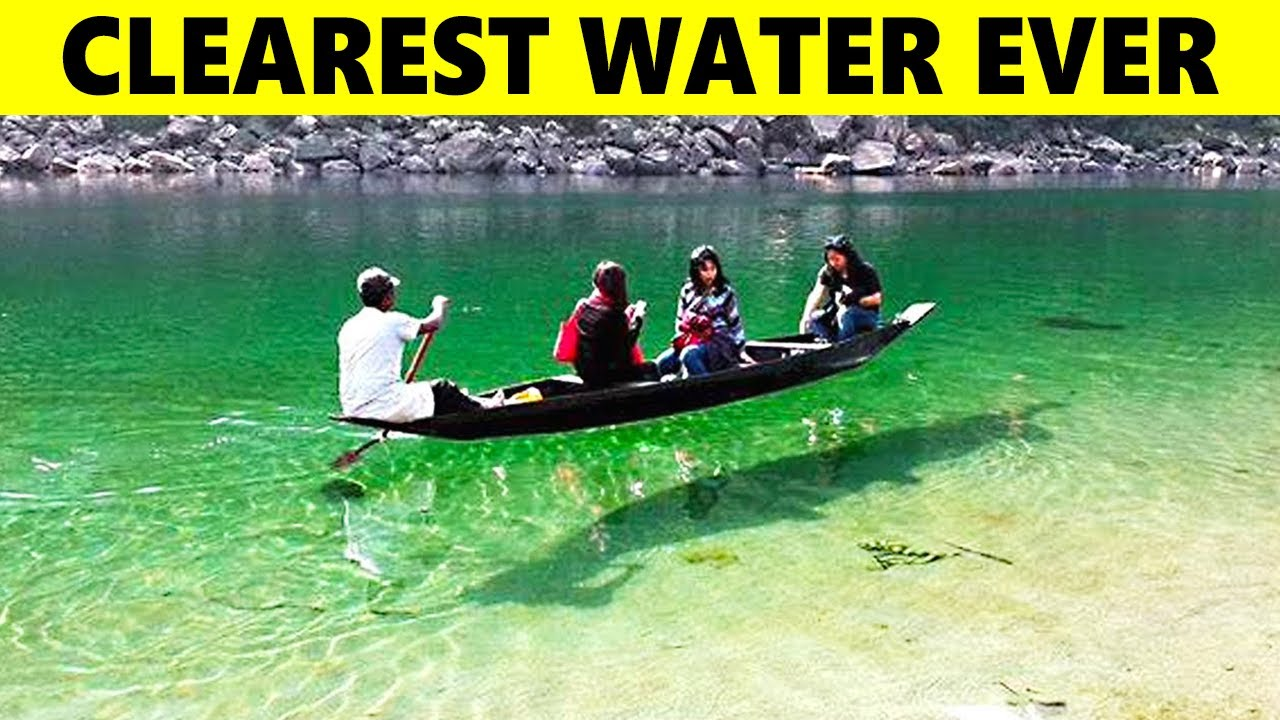 15 Rarest Places On Earth That Are Extremely Clean