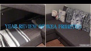 Year Review of Ikea Friheten