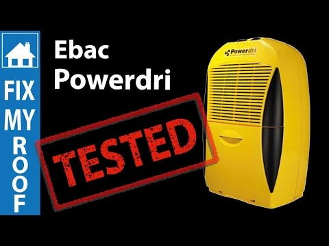 Ebac Powerdri 18L Dehumidifier Review