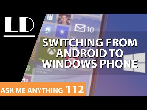 From Android to Windows Phone! Pros & Cons | Ramon | AMA 112