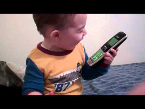toddler, Pissed about the phone off the hook