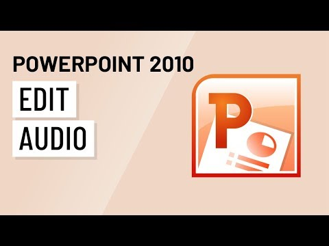 PowerPoint 2010: Editing Audio