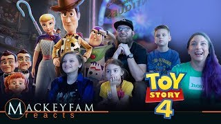 Toy Story 4 | Official Trailer- REACTION and REVIEW!!!