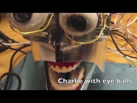 Making of Charlie - The Anthropomorphic Robot head