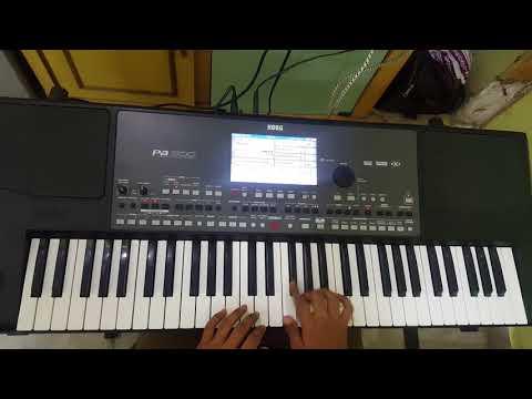 okade okkadu monagadu or oruvan oruvan opening music from muthu keyboard cover y p.v.satyanarayana