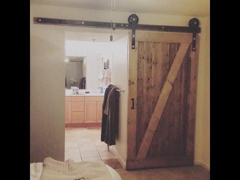 Homemade Barn Door