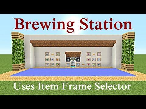 Minecraft Tutorial : Auto Brewing Station