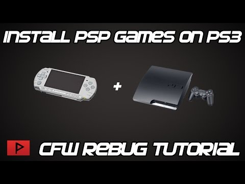 [How To] Install and Play PSP Games on Modded PS3 PKG Tutorial (2016)