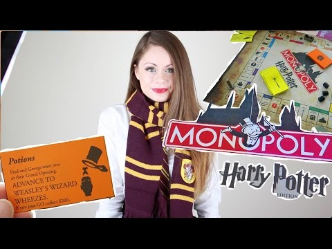 ♡ DIY Harry Potter Monopoly | Halloween 2015 | Sue Rose ♡