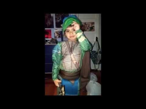 Funny TMNT Movie Costume Kid Bloopers Teenage Mutant Ninja Turtles Child Halloween