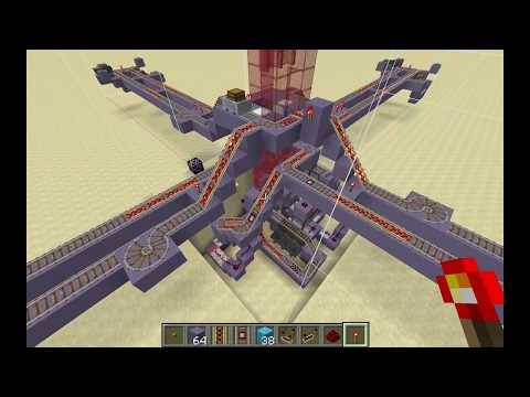 Minecraft - Automatic Intersection Routing for Complex Networks