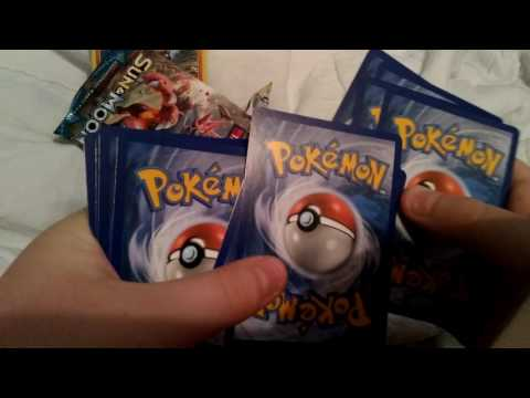 Pokemon Sun and moon Rockruff Promo Card pack opening