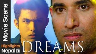 ANMOL K.C. ले गर्यो फाइट - Superhit Nepali Movie DREAMS Scene Ft. Anmol K.C., Sandhya K.C.