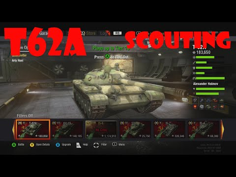 World Of Tanks Xbox 360 T62a