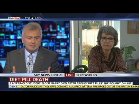 Mum's Warning About 'Diet Pills' After Daughter's Death
