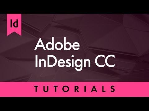 Indesign CC 2018 tutorial in Hindi